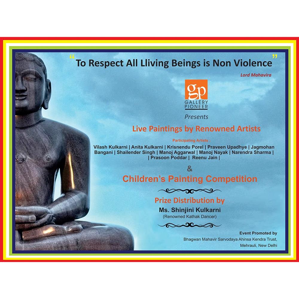 Buddha backdrop - backdrop designing services in delhi