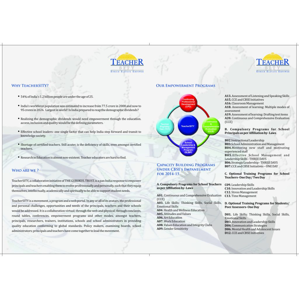 brochure two pager inner- brochure designing services in delhi