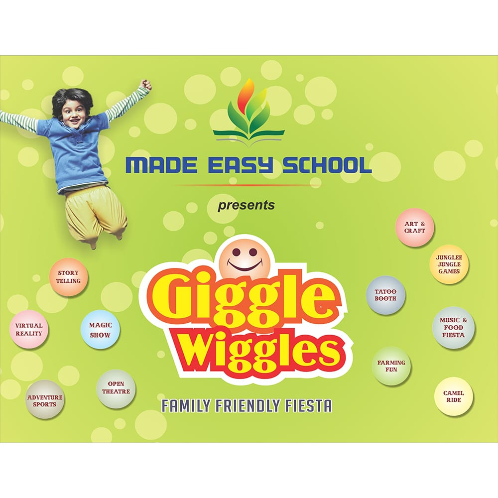 Event backdrop school - design agency in delhi