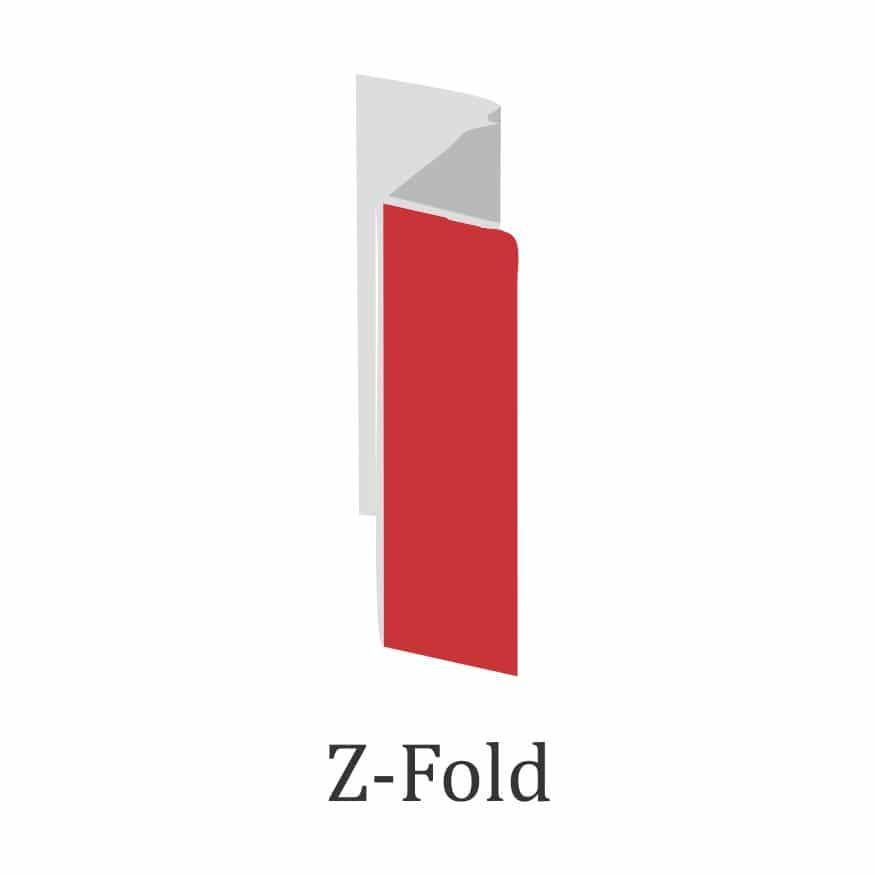 brochure fold design- z fold