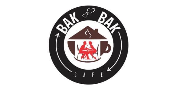 logo bak bak cafe