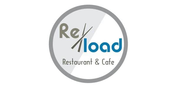 logo reload cafe n rest